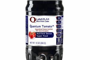 QUANTUMTOMATO UNPARALLELED TOMATO NUTRITION WITH NATURAL LYCOPENE NUTRIENT DENSE SUPER FOOD