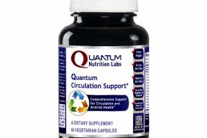 QUANTUM COMPREHENSIVE SUPPORT FOR CIRCULATION AND ARTERIAL HEALTH DIETARY SUPPLEMENT VEGETARIAN CAPSULES