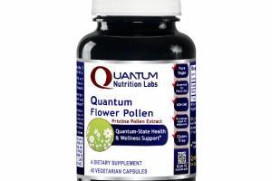 QUANTUM-STATE FLOWER POLLEN HEALTH & WELLNESS SUPPORT DIETARY SUPPLEMENT VEGETARIAN CAPSULES