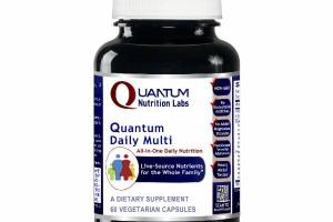 QUANTUM DAILY MULTI ALL-IN-ONE NUTRITION DIETARY SUPPLEMENT VEGETARIAN CAPSULES