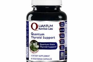 QUANTUM-STATE THYROID SUPPORT WILD BEAR GARLIC DIETARY SUPPLEMENT VEGETARIAN CAPSULES