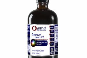 QUANTUM HEART-PG PREBIOTIC-FERMENTED FORMULA WITH HEART-ASSOCIATED NUTRIENTS DIETARY SUPPLEMENT