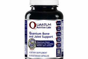 QUANTUM BONE AND JOINT SUPPORT DIETARY SUPPLEMENT VEGETARIAN CAPSULES, ALFALFA