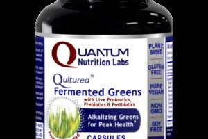 QULTURED FERMENTED GREENS WITH LIVE PROBIOTICS, PREBIOTICS & POSTBIOTICS DIETARY SUPPLEMENTS CAPSULES
