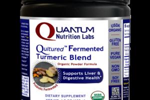 QULTURED FERMENTED TURMERIC BLEND ORGANIC POWDER FORMULA DIETARY SUPPLEMENT