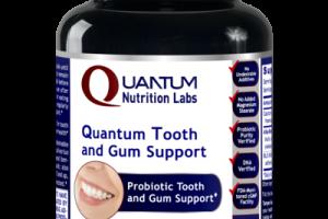 QUANTUM PROBIOTIC TOOTH AND GUM SUPPORT DIETARY SUPPLEMENT VEGETARIAN CAPSULES