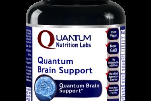 QUANTUM BRAIN SUPPORT A DIETARY SUPPLEMENT VEGETARIAN CAPSULES