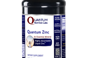 QUANTUM ZINC AN ESSENTIAL MINERAL HIGHLY ABSORBABLE LIQUID ZINC DIETARY SUPPLEMENT