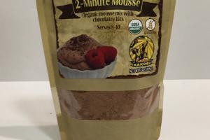 Organic Mousse Mix With Chocolatey Bits