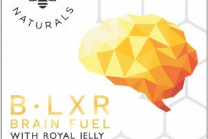 B-lxr Brain Fuel With Royal Jelly Dietary Supplement