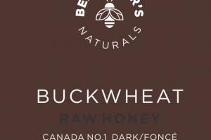 BUCKWHEAT CANADA NO.1 DARK RAW HONEY