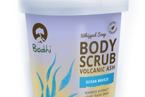 Whipped Body Scrub Volcanic Ash, Ocean Breeze