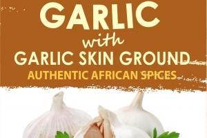 Garlic With Garlic Skin Ground