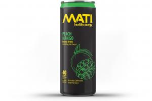 Peach Mango Energy Drink