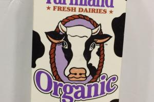 Organic Fresh Dairies Reduced Fat Milk