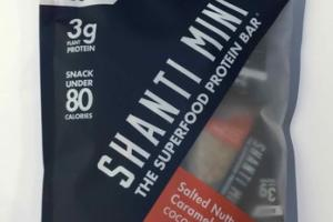 SALTED NUTTY CARAMEL COCONUT THE SUPERFOOD PROTEIN MINI BAR
