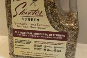 ALL NATURAL MOSQUITO SPREADABLE INSECT DETERRENT