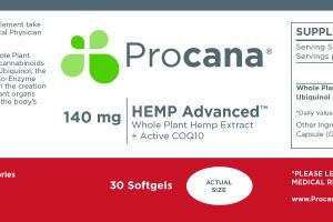Hemp Advanced Softgels