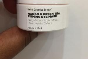 Mango & Green Tea Firming Eye Mask