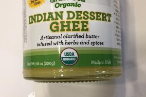 Indian Dessert Ghee
