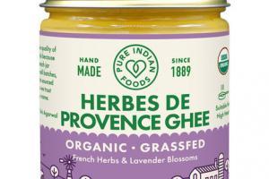 ORGANIC HERBES DE PROVENCE GHEE