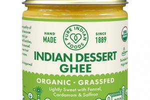 ORGANIC INDIAN DESSERT GHEE