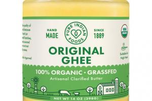 100% ORGANIC ORIGINAL GHEE