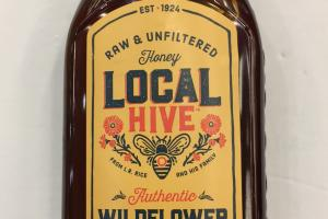 Raw & Unfiltered Authentic Honey