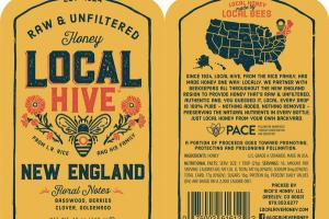 NEW ENGLAND RAW & UNFILTERED HONEY
