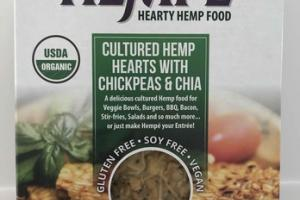 CULTURED HEMP HEARTS WITH CHICKPEAS & CHIA