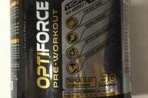 Optiforce Pre-workout Dietary Supplement