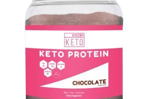 KETO PROTEIN DIETARY SUPPLEMENT, CHOCOLATE