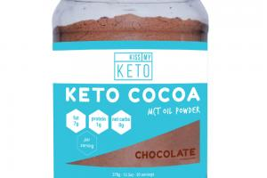 KETO COCOA MCT OIL POWDER DIETARY SUPPLEMENT, CHOCOLATE