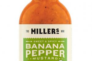 Sweet And Spicy Banana Peppermustard
