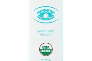 Organic Toothpaste, Sweet Mint