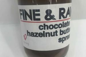 CHOCOLATE HAZELNUT BUTTER SPREAD