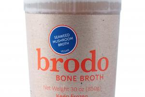 Seaweed Mushroom Bone Broth