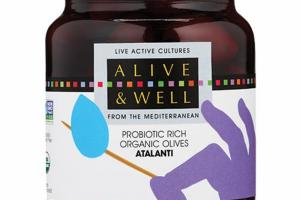 ATALANTI PROBIOTIC RICH ORGANIC OLIVES