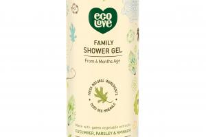 Family Shower Gel, Cucumber, Parsley & Spinach