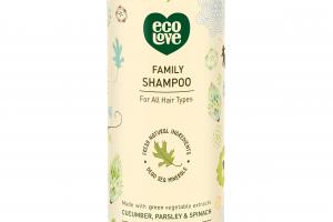 Family Shampoo For All Hair Types, Cucumber, Parsley & Spinach