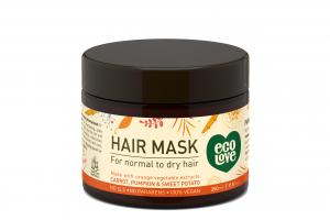 Hair Mask For Normal To Dry Hair, Carrot, Pumpkin & Sweet Potato