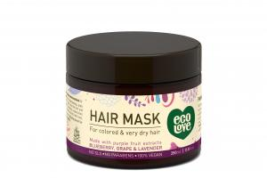 Hair Mask, Blueberry, Grape & Lavender