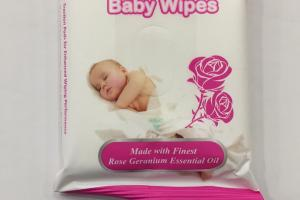 Rose Water Baby Wipes