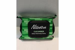 DAILY CLEANSING CLOTHS, CUCUMBER