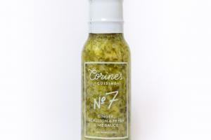 Ginger, Scallion & Fresh Lime Sauce