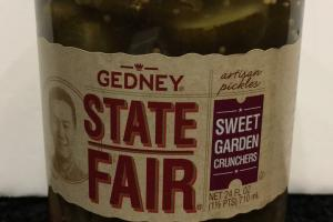 Sweet Garden Crunchers Artisan Pickles