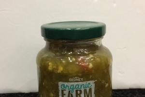 Organic Sweet & Spicy Jalapeno Relish