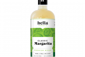 CLASSIC MARGARITA PREMIUM MIXER MADE WITH REAL LIME JUICE
