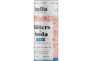 DRY AROMATIC BITTERS & SODA