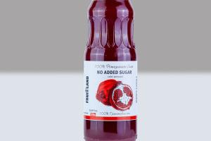 COLD PRESSED 100% POMEGRANATE JUICE